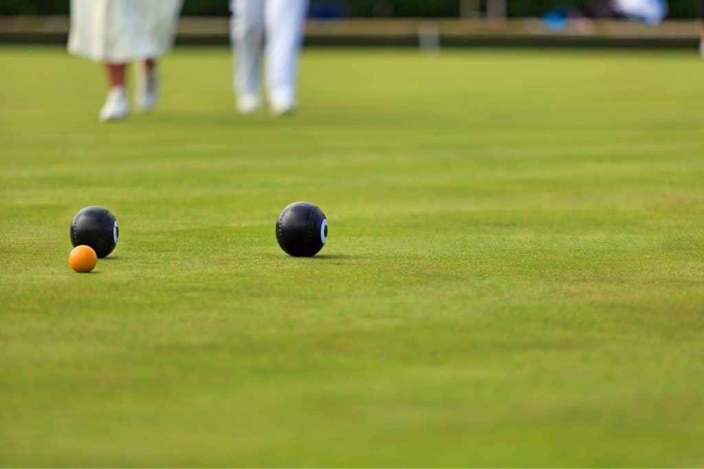 Bowls and Jack at Croydon Bowling Club